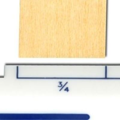 """Picture of Basswood Strips 3/4"""""""