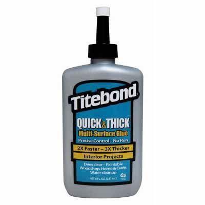 Titebond Quick & Thick Multi-Surface Glue