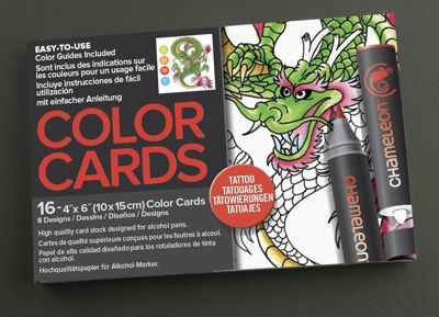 CLCC0104 Chameleon Color Cards Tattoo