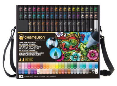 CLCT5201 Chameleon 52-Pen Super Set (Includes Case)