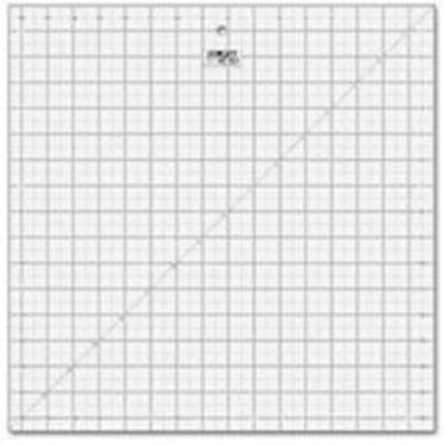"""16 1/2"""" Square Frosted Acrylic Ruler QR-16S"""