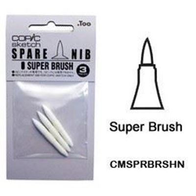 CMSPRBRSHN Super Brush Nib 3pk
