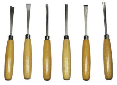 Beginners 6-Piece Wood Carving Set 56011
