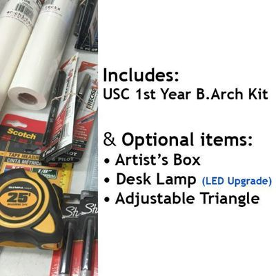 Picture of USC 1st Yr B.Arch w/ Optional Items and Upgrade LED Lamp