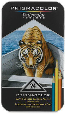 SA4065 Prismacolor Premier Water-Soluble Color Pencil 24 Set