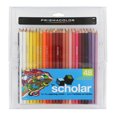 SA92807 Prismacolor Scholar Color Pencil 48 Set