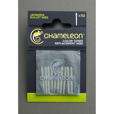 Chameleon Replacement Bullet Nibs - 10 Pack