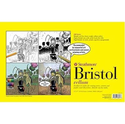 Sequential Art Bristol Paper Pads – 300 Series