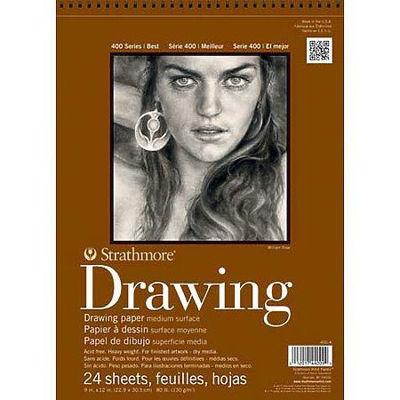 Strathmore Drawing Medium - 9x12, 24 sheets - 80lb