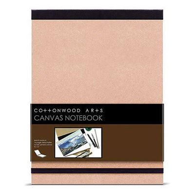 Cottonwood Arts Canvas Notebook