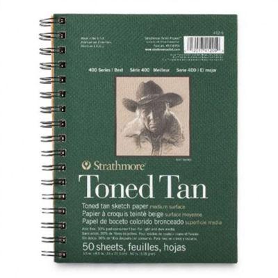 Strathmore Toned Tan Sketch Pads