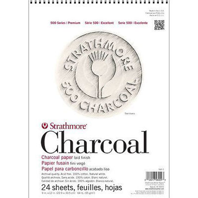 Charcoal Paper Pads – 500 Series