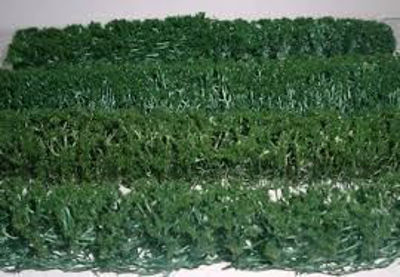 WE00333 WEESCAPES Green Hedges 5''x3/8''x5/8'' 4pk