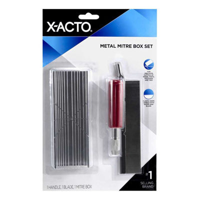 XA75320 X-Acto Small Metal Mitre Box Set
