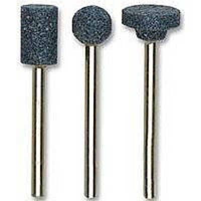 28780 Aluminum-Oxide Mounted Points Set with Assorted Shapes, 3 pcs