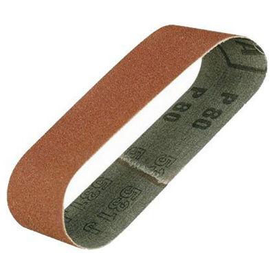 PX28926  Proxxon Sanding Belts For BBS, 180 Grit, 5 Pcs.