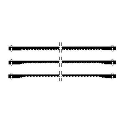 PX28740  Proxxon Scroll Saw Blades For Dsh, Coarse Pin End Blades (10 Tpi), 6 Pcs.