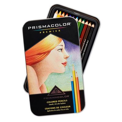 SA3596T Prismacolor Premier Color Pencil Set 12CT