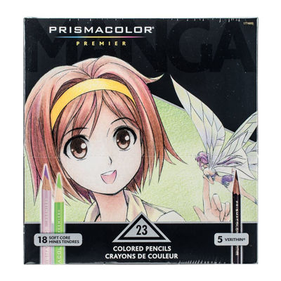 SA1774800 Prismacolor Premier/Verithin Manga 23 Set (18 Premier / 5 Verithin)