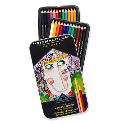 SA03597 Prismacolor Premier Color Assorted Pencil 24 Set