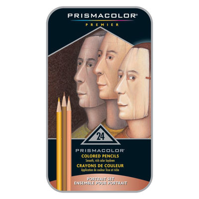 SA25085 Prismacolor Premier Color Pencil 24CT Portrait Set