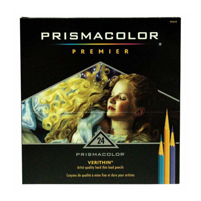 SA2427 Prismacolor Verithin Color Pencil 24 Set