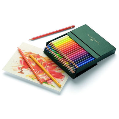 FC110038 Faber Castell POLYCHROMOS Artist Colored Pencil 36ct Gift Box Lightfast