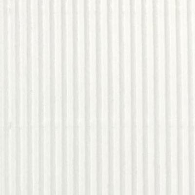 Corrugated White