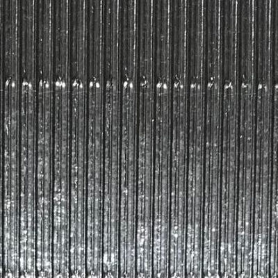 Corrugated Metallic Silver