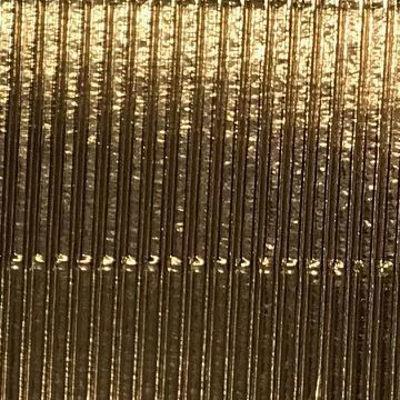 Corrugated Metallic Gold