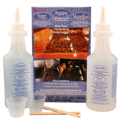 AU10591 Alumilite Clear Kit - 32oz