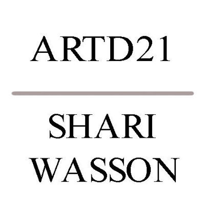 Picture of ARTD21: SHARI WASSON