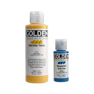 Picture of Golden Fluid Acrylics
