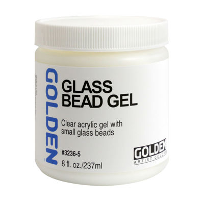 Picture of Golden Glass Bead Gel