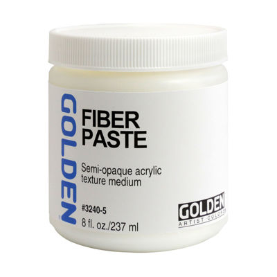 Picture of Golden Fiber Paste Medium