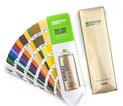 Picture of Montana Gold True Color Swatch Book