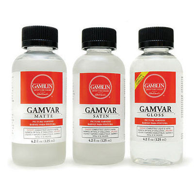 Picture of Gamblin Gamvar Picture Varnish
