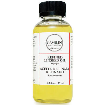 Picture of Gamblin Refined Linseed Oil