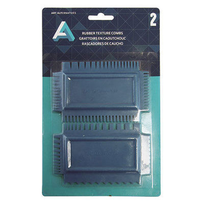 Picture of Art Alternatives Rubber Texture Combs Set