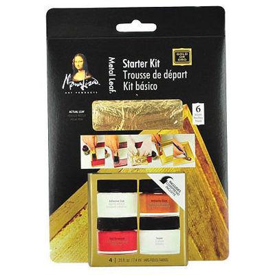 Picture of Mona Lisa Gold Leaf Starter Kit